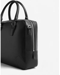 Mango - Engraved Briefcase - Lyst