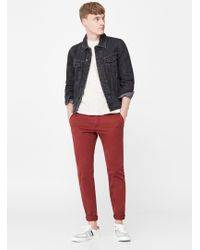 Mango - Slim-fit Garment-dyed Chinos - Lyst