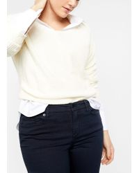 Violeta by Mango - Slim-fit Jullie Jeans - Lyst