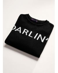 Violeta by Mango - Message Knitted Sweater - Lyst