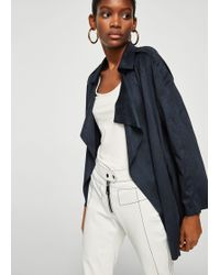 Mango - Soft Finish Jacket - Lyst