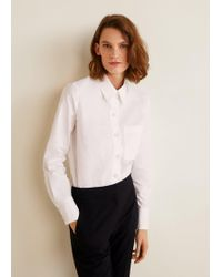 Mango - Organic Cotton Shirt - Lyst