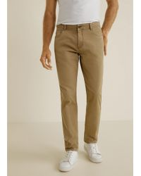 Mango - Five Pocket Trousers - Lyst