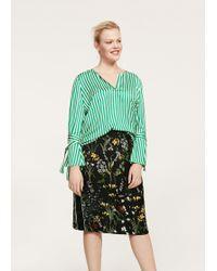 Violeta by Mango | Floral Print Skirt | Lyst