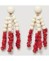 Mango - Stones Earrings - Lyst