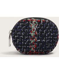 Violeta by Mango - Tweed Coin Purse - Lyst