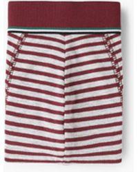 Mango | Striped Cotton Boxer Shorts | Lyst