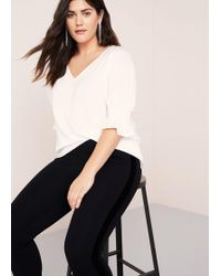 Violeta by Mango - Contrasting Design leggings - Lyst