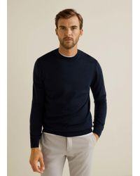 Mango - 100% Wool Sweater - Lyst
