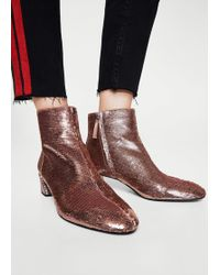 Mango - Ankle Boots - Lyst