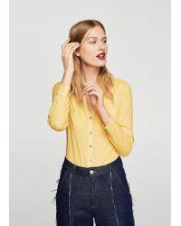 Mango - Overshirt - Lyst