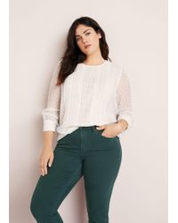 Violeta by Mango - Slim-fit Julia Jeans - Lyst
