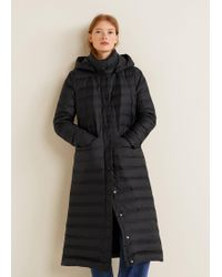 Mango - Water-repellent Quilted Coat - Lyst