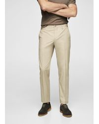 Mango - Cotton Chinos - Lyst