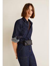 Mango - Flap Belt Bag - Lyst