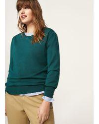 Violeta by Mango - Puffed Sleeves Sweater - Lyst