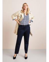 Violeta by Mango - Detachable Belt Trousers - Lyst