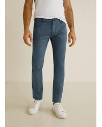 Mango - Slim-fit Chinos Trousers - Lyst