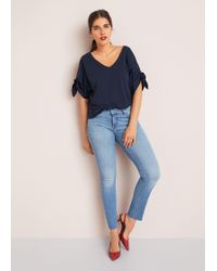 Violeta by Mango - Super Slim-fit Alba Jeans - Lyst