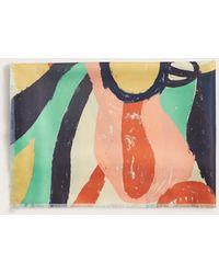 Violeta by Mango - Multicolour Print Scarf - Lyst