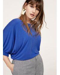 MANGO Fine-knit t-shirt Websites Cheap Price BHNVVYke