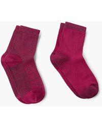 Mango - Socks (pack) - Lyst