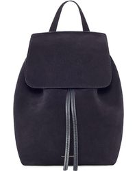 53cc86f8682 Suede Mini Backpack - Black