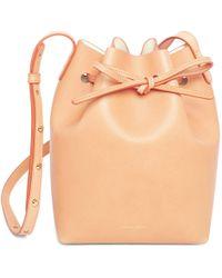 Mansur Gavriel - Cammello Mini Bucket Bag - Creme - Lyst
