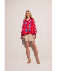 MARCH11 - Tina Blouse In Red - Lyst