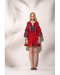 MARCH11 - Namibia Mini Dress In Red - Lyst