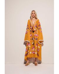MARCH11 - Astrid Maxi Dress In Yellow - Lyst