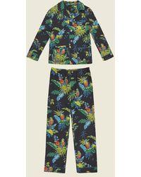 Marc Jacobs - Parrot Cotton Pyjama Set - Lyst