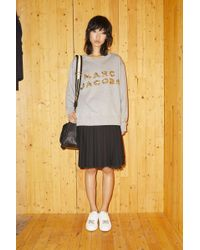 Marc Jacobs - Embroidered Logo Sweatshirt - Lyst