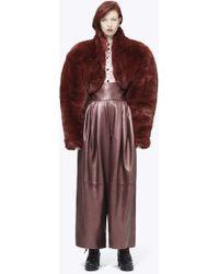 Marc Jacobs - Plush Bolero Jacket - Lyst