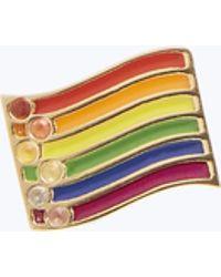 Marc Jacobs - Rainbow Flag Single Stud - Lyst