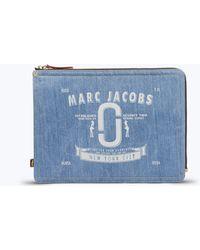 "Marc Jacobs - Logo Denim 13"" Computer Case - Lyst"