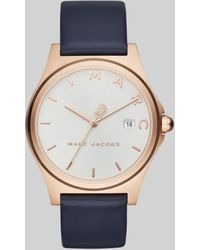Marc Jacobs The Henry Watch 36mm - Blue