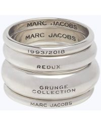 5b7191e1c27b4 Marc Jacobs Thumbs-up Ring in Metallic - Lyst