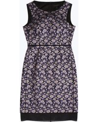 Marc Jacobs - Brocade Sheath Dress - Lyst