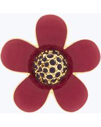 Marc Jacobs - Small Enamel Daisy Pin - Lyst