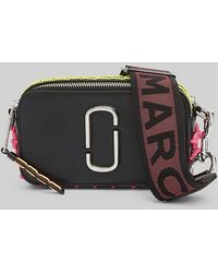 Marc Jacobs - Snapshot Whipstitched Leather Camera Bag - Lyst