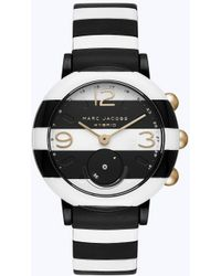 Marc Jacobs - Striped Riley Hybrid Smartwatch - Lyst
