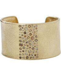 Todd Reed - Natural Diamond Mix Cuff - Lyst