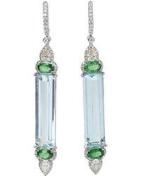 Inbar | Aquamarine Earrings | Lyst