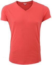 Orlebar Brown - Ob V-neck T-shirt - Lyst