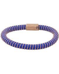 Carolina Bucci - Cobalt Twister Band Bracelet - Lyst