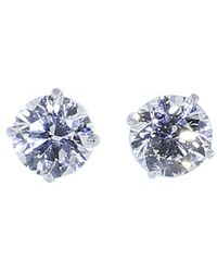 Inbar - Diamond Stud Earrings - Lyst