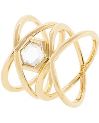 Eva Fehren - Diamond Xx Ring - Lyst