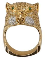 Wendy Yue - Diamond Panther Ring - Lyst