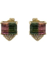 Dana Rebecca - One Of A Kind Watermelon Stud Earrings - Lyst